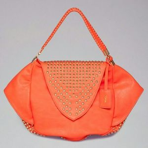 ~~SOLD~~Lily Oversized Studded Tote by Bebe